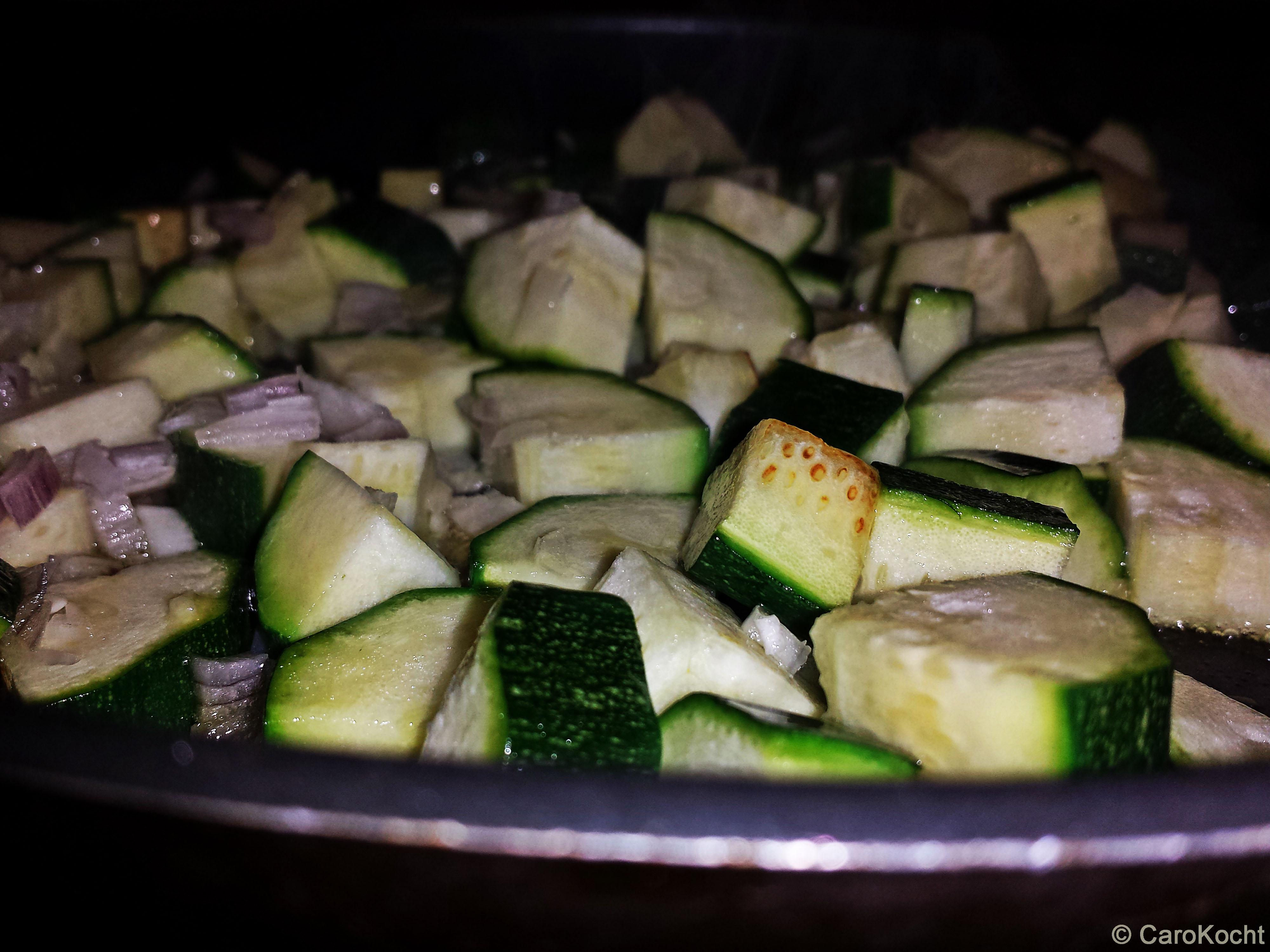 zucchiniangebraten