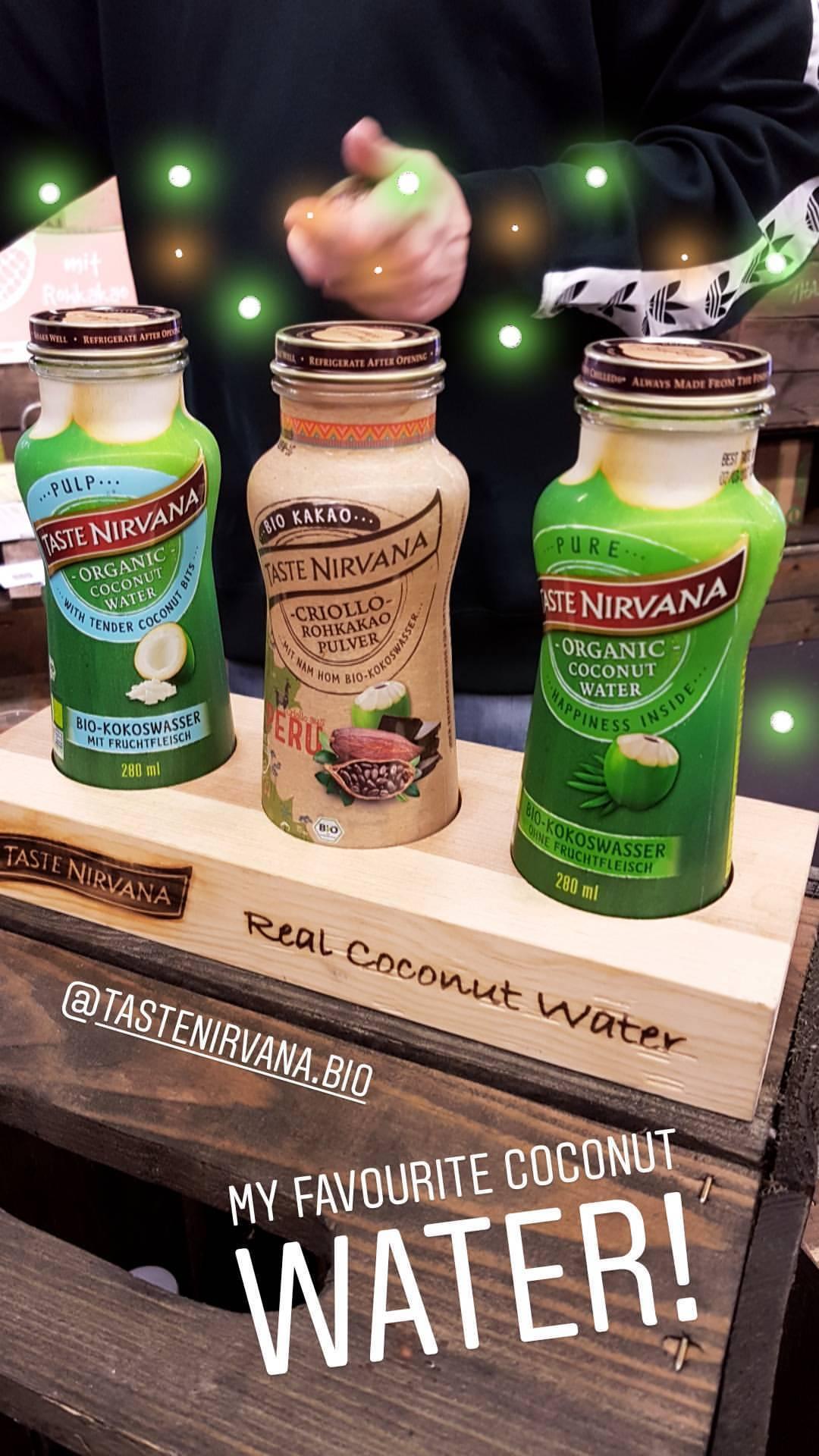 Taste Nirvana Coconut Water