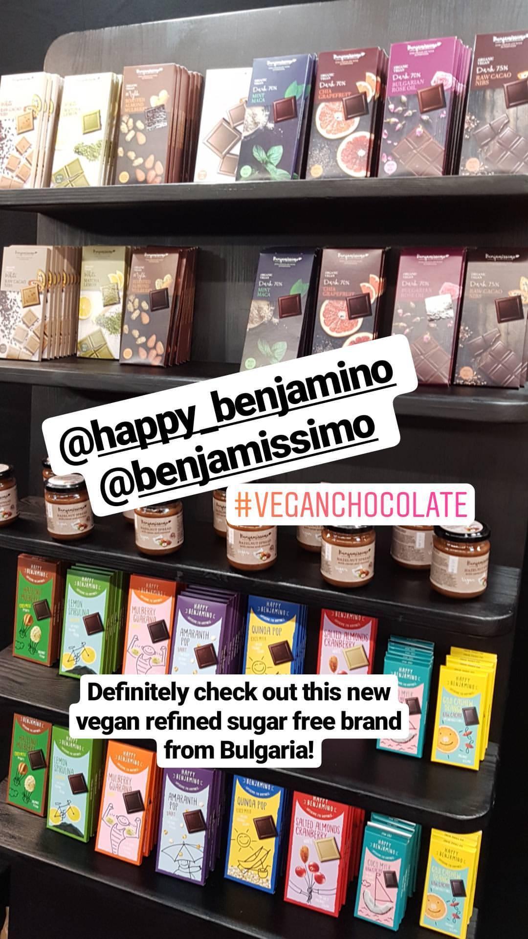 Happy Benjamino & Benjamissimo Chocolate