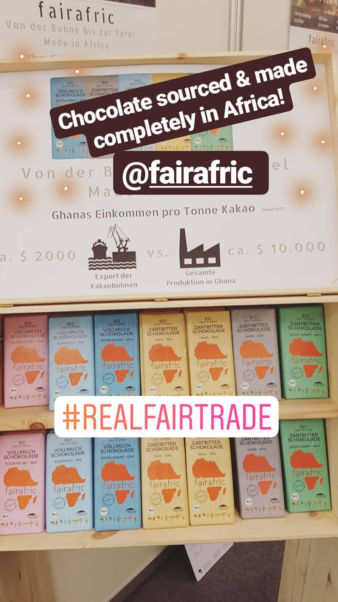 Fairafric Fair Trade Chocolate